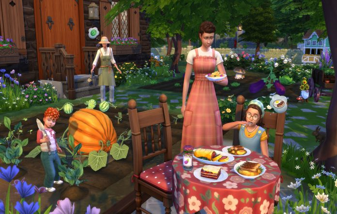 The Sims 4 Cottage Living. Image Credit: EA/Maxis