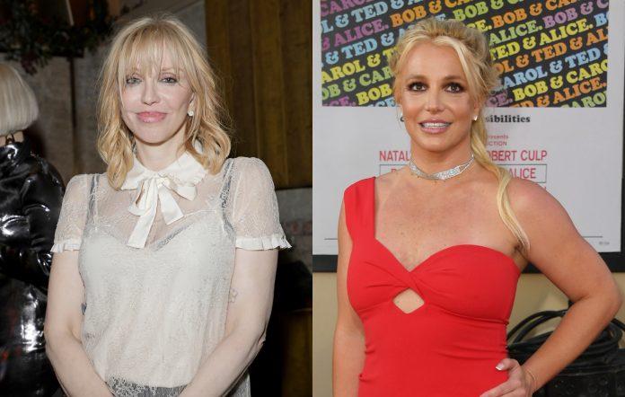 Courtney Love Britney Spears