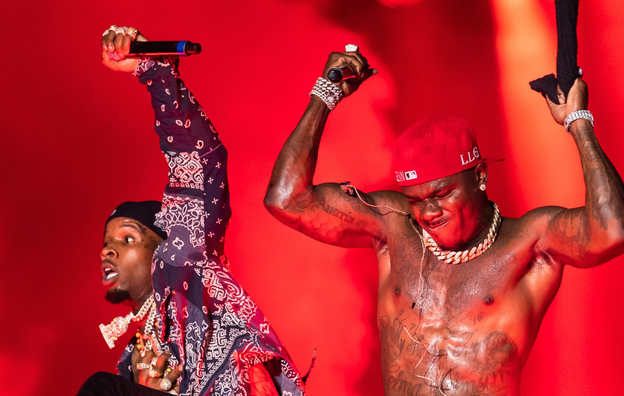 DaBaby at Rolling Loud
