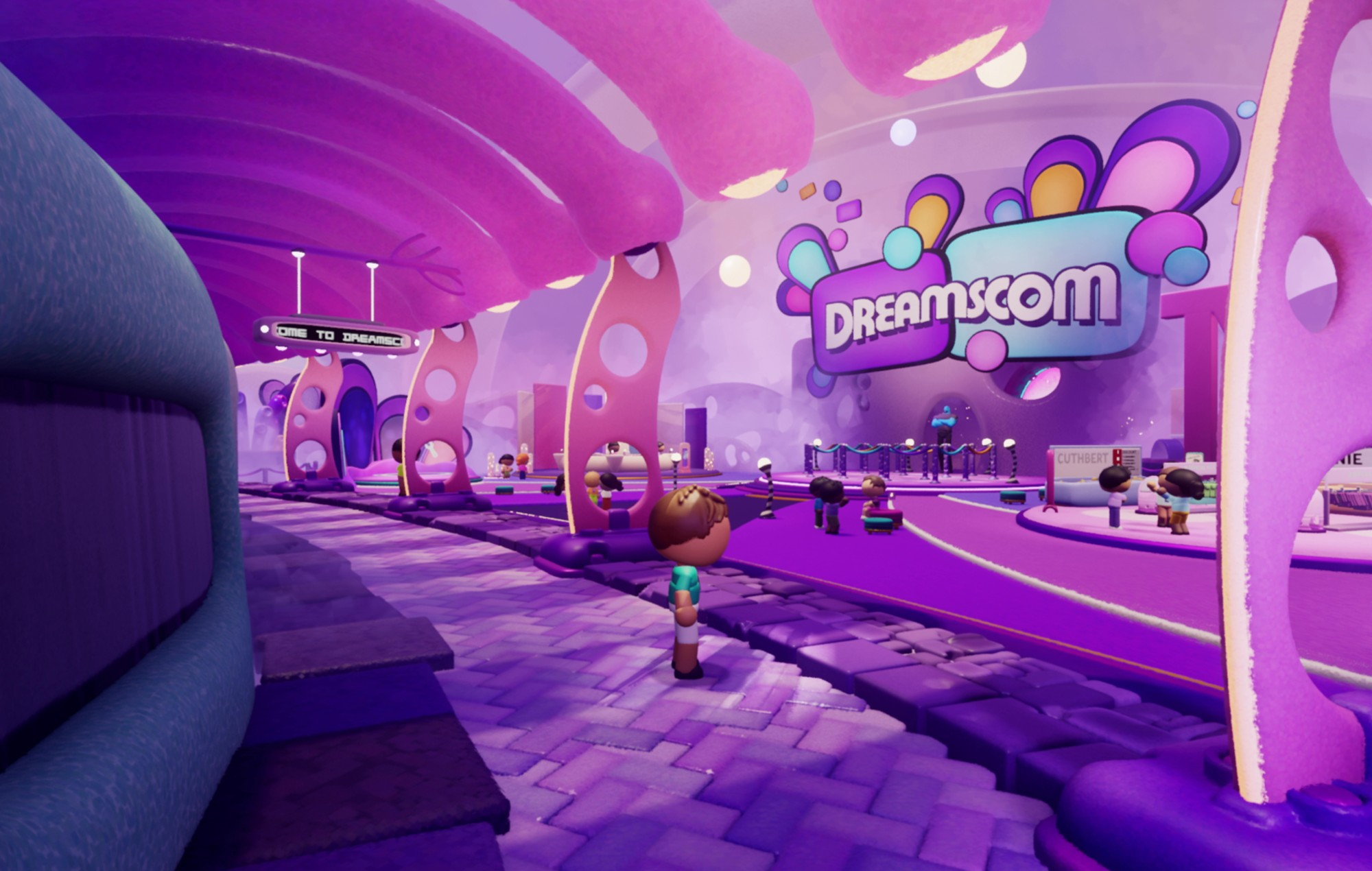 DreamsCom 2021 is live in 'Dreams' with two new original games