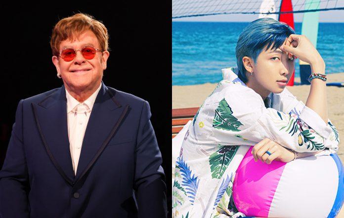Elton John BTS RM