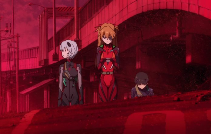 'Evangelion 3.0+1.01: Thrice Upon a Time' worldwide premiere Amazon Prime Video clip