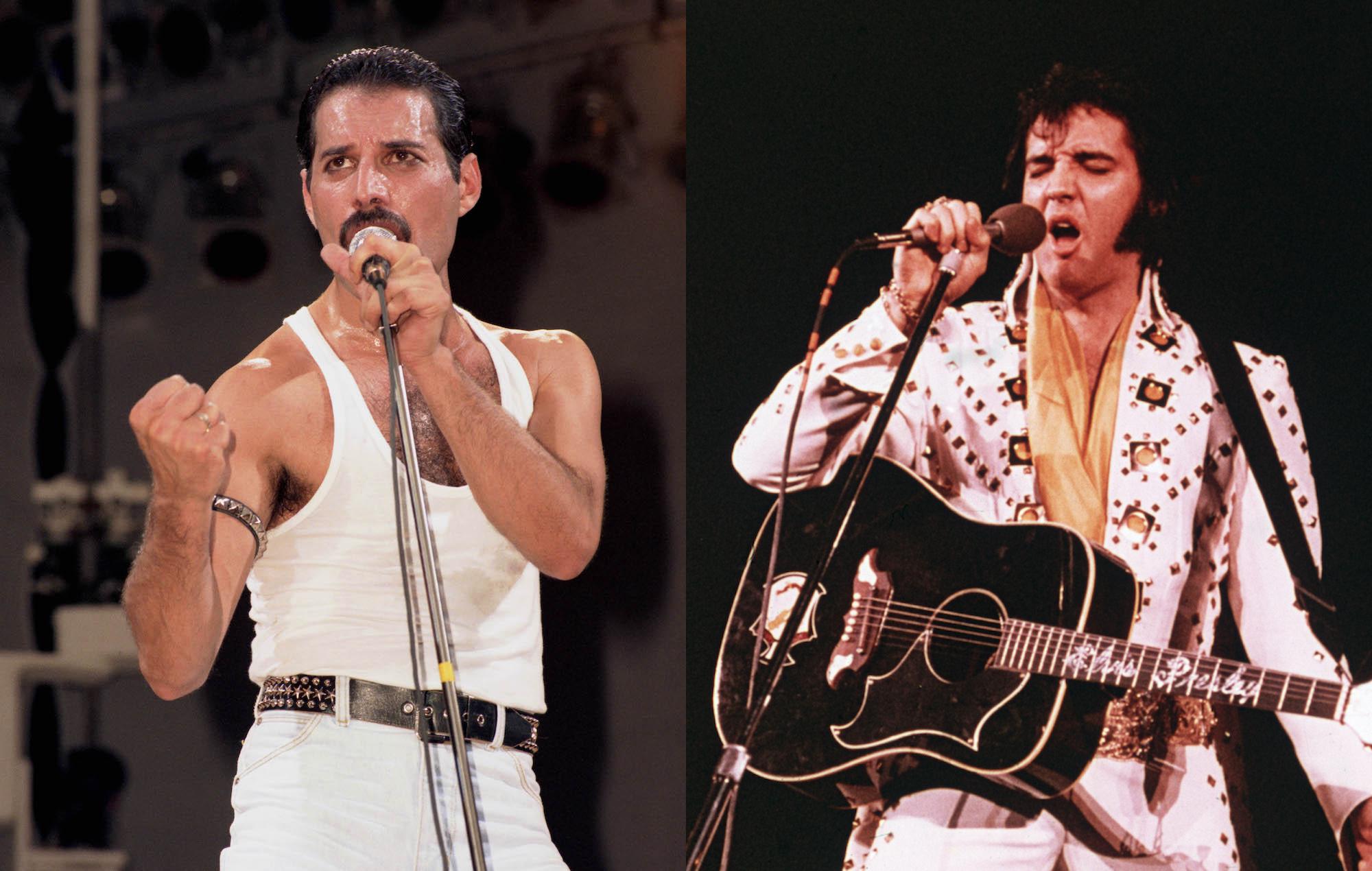 Freddie Mercury Elvis Presley