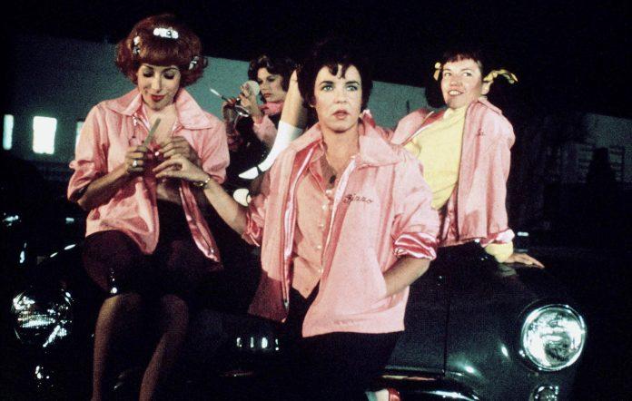 The original Pink Ladies in 'Grease'
