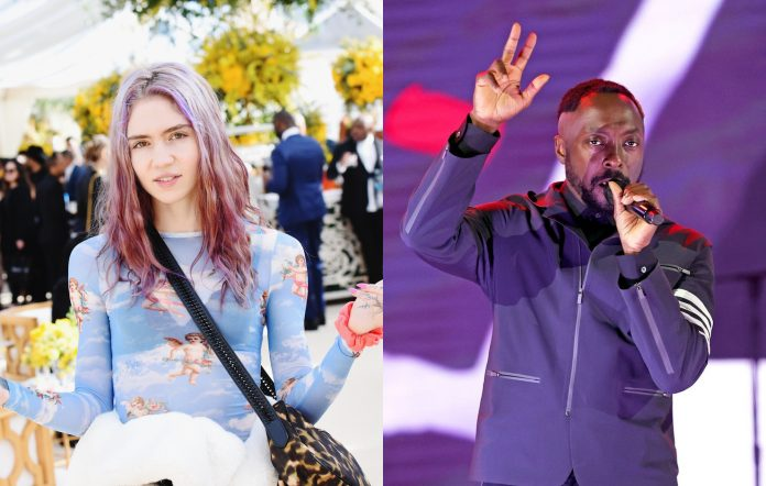 Grimes will.I.am