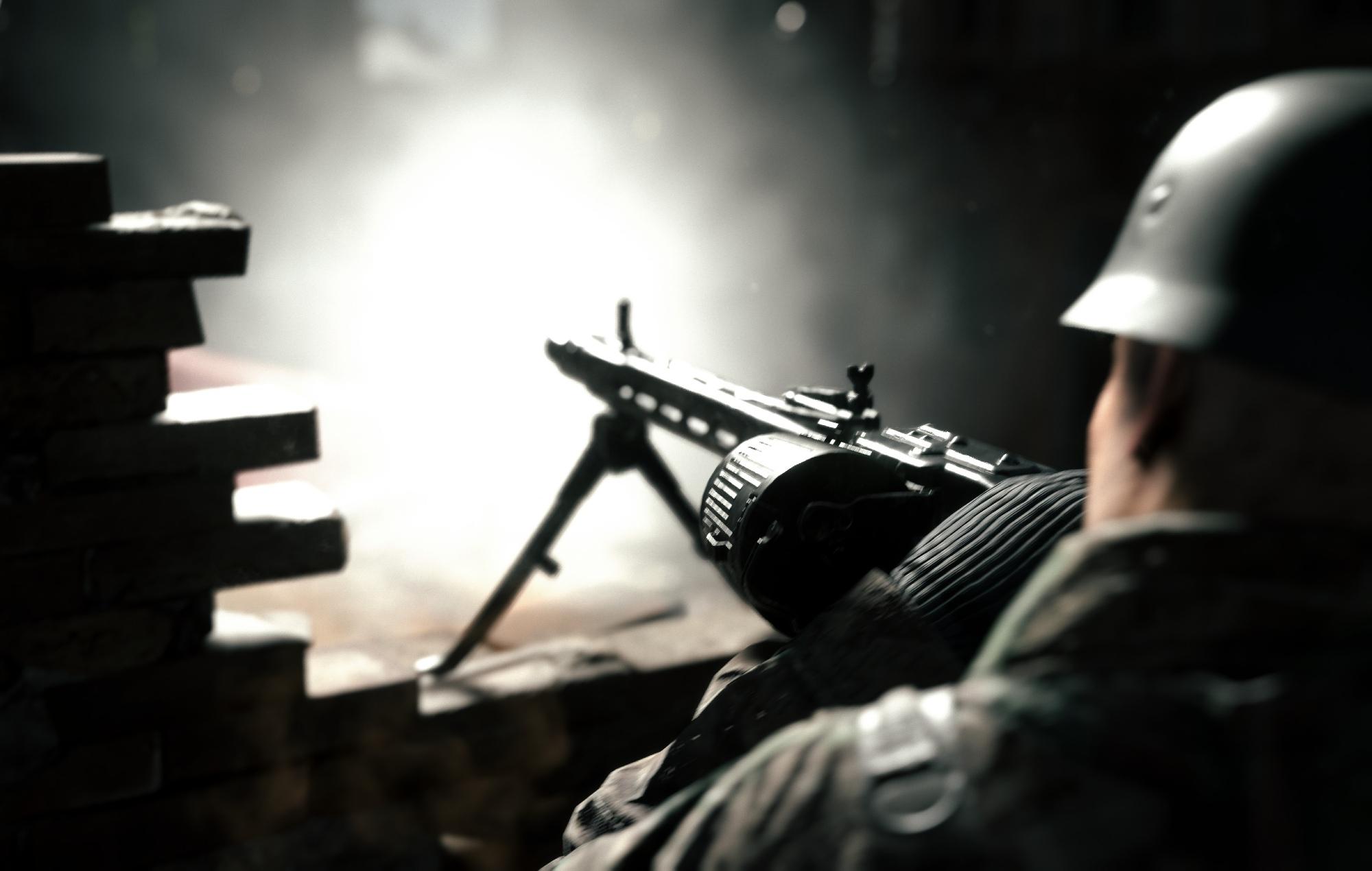 Hell let loose machine gun