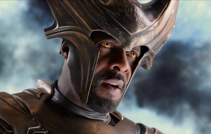 Idris Elba as Heimdall in Thor: The Dark World