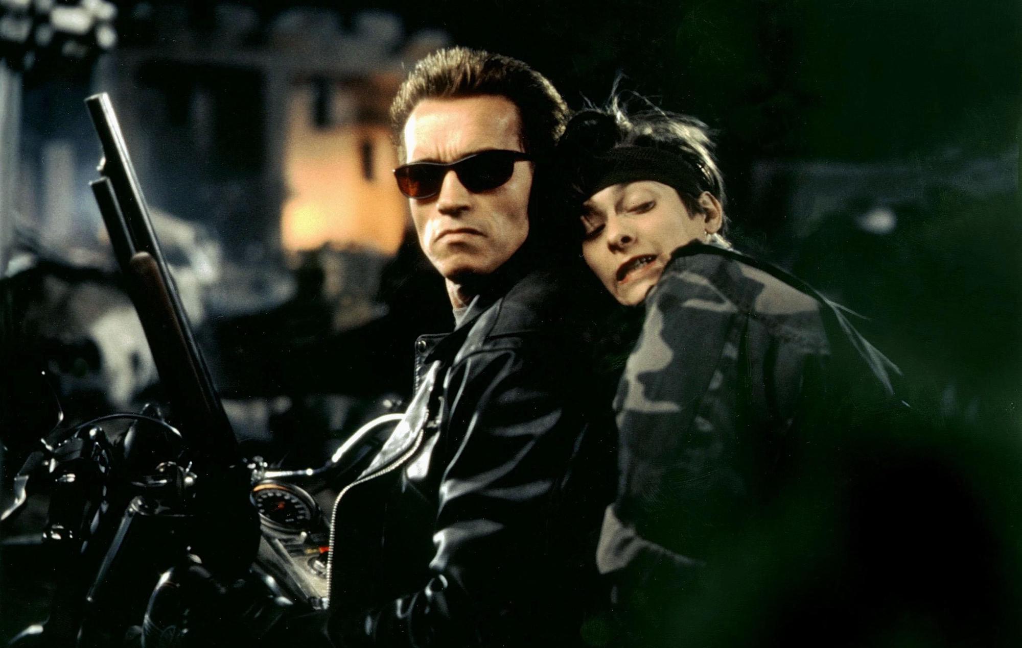 Arnold Schwarzenegger, Edward Furlong, Terminator 2