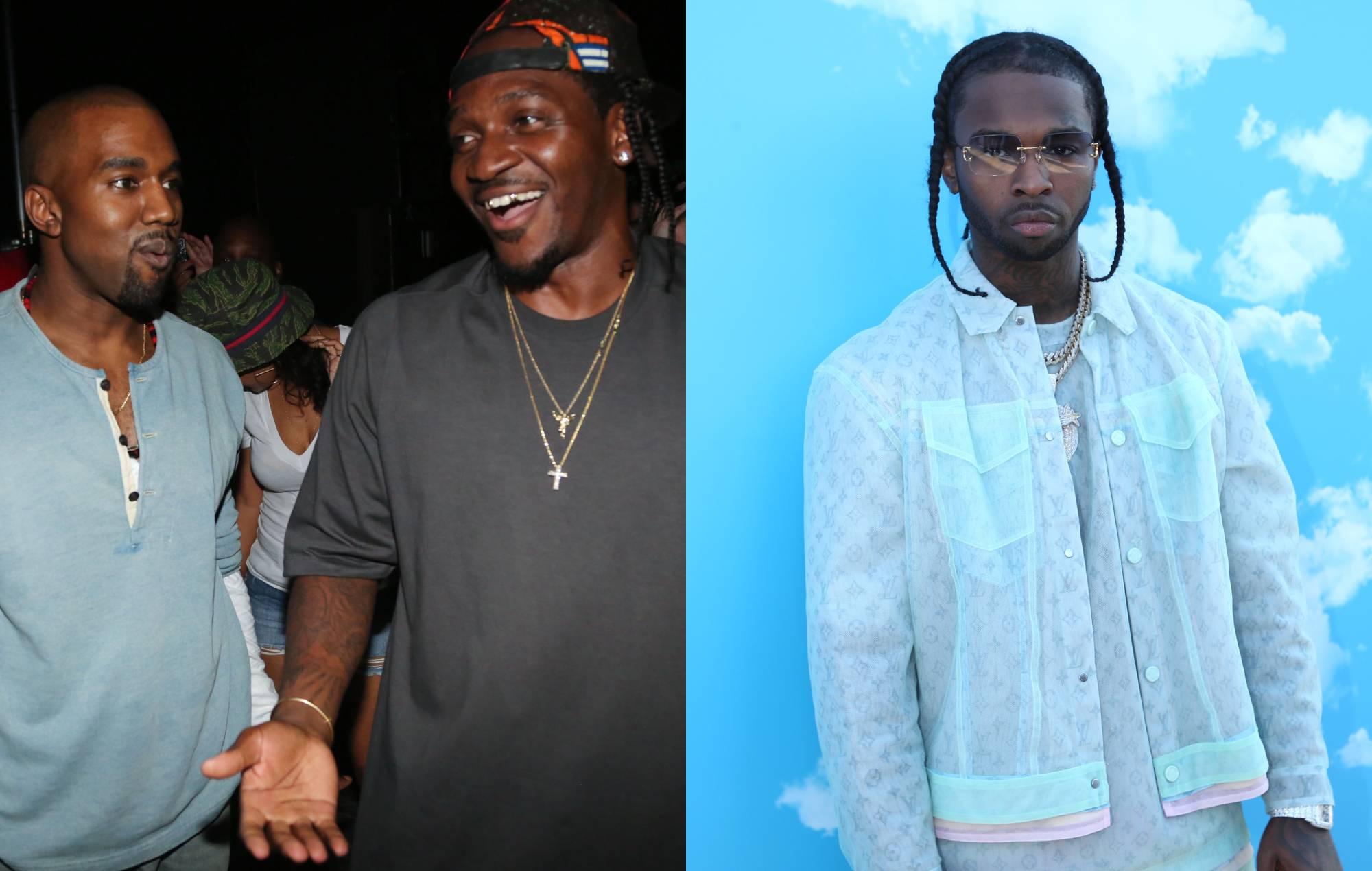 Kanye West and Pusha-T / Pop Smoke