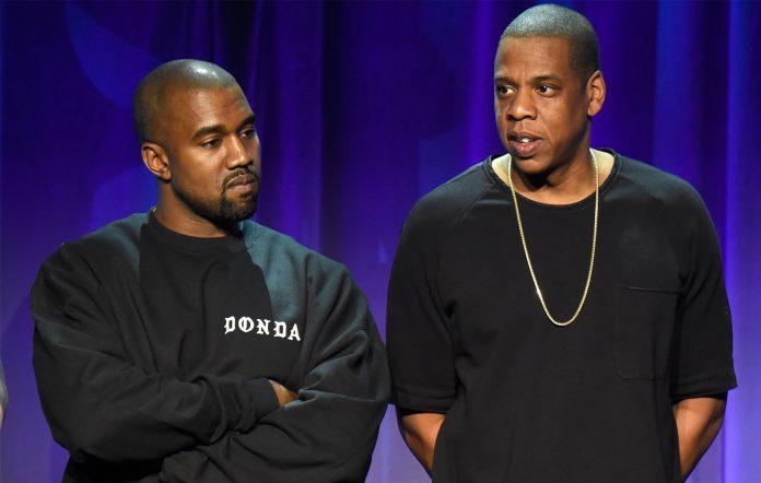 Kanye West Jay-Z feature Donda album 2021 Atlanta stadium listening party