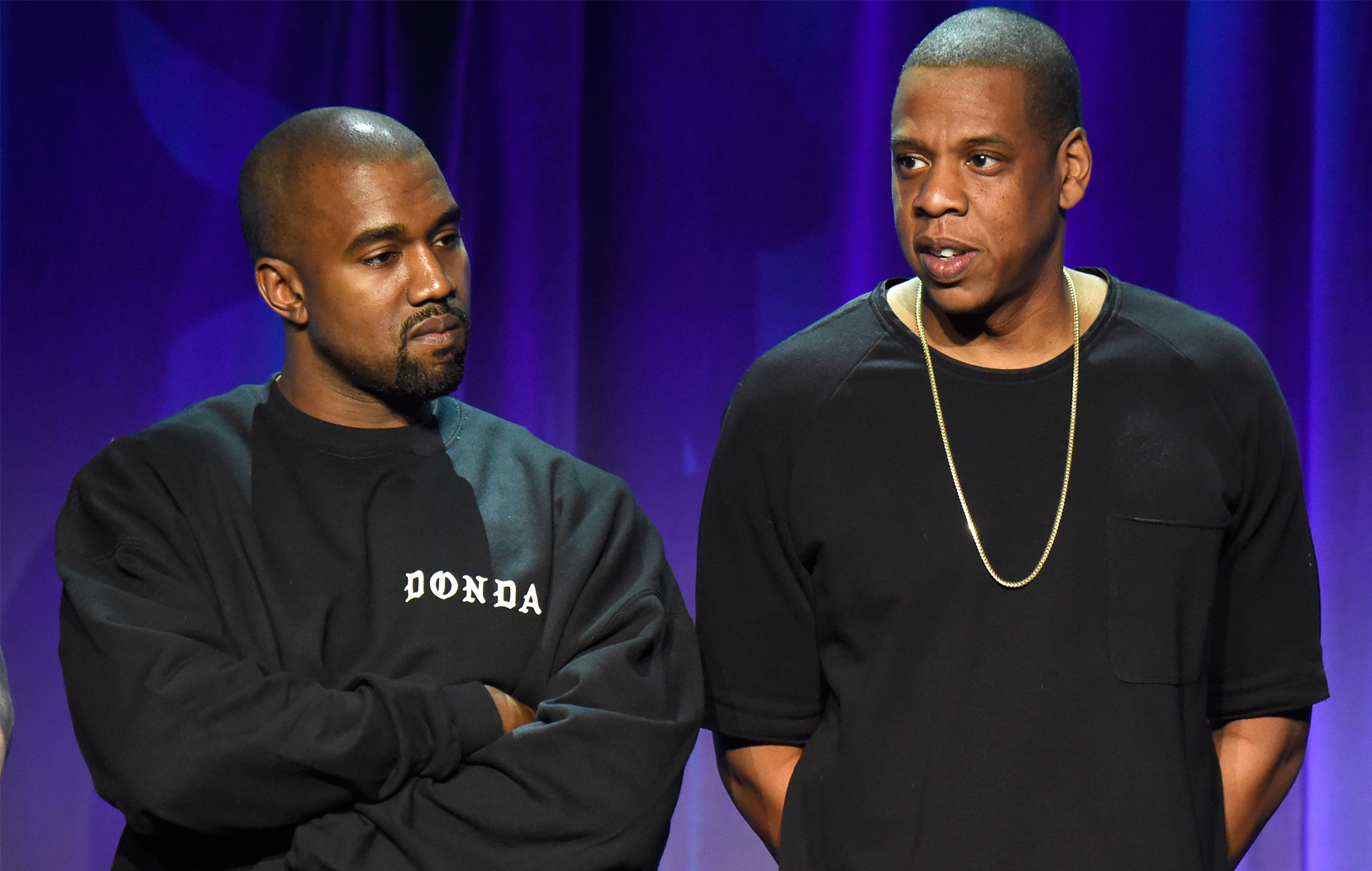 Kanye West previews Jay-Z feature on 'DONDA' album at listening event in Atlanta stadium