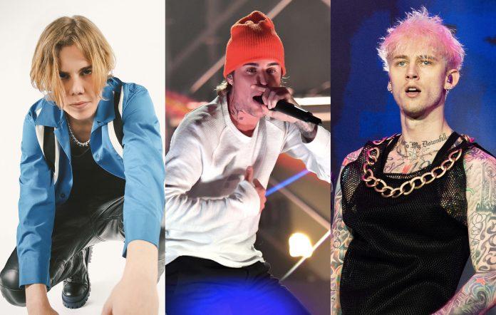 The Kid LAROI, Justin Bieber and Machine Gun Kelly.
