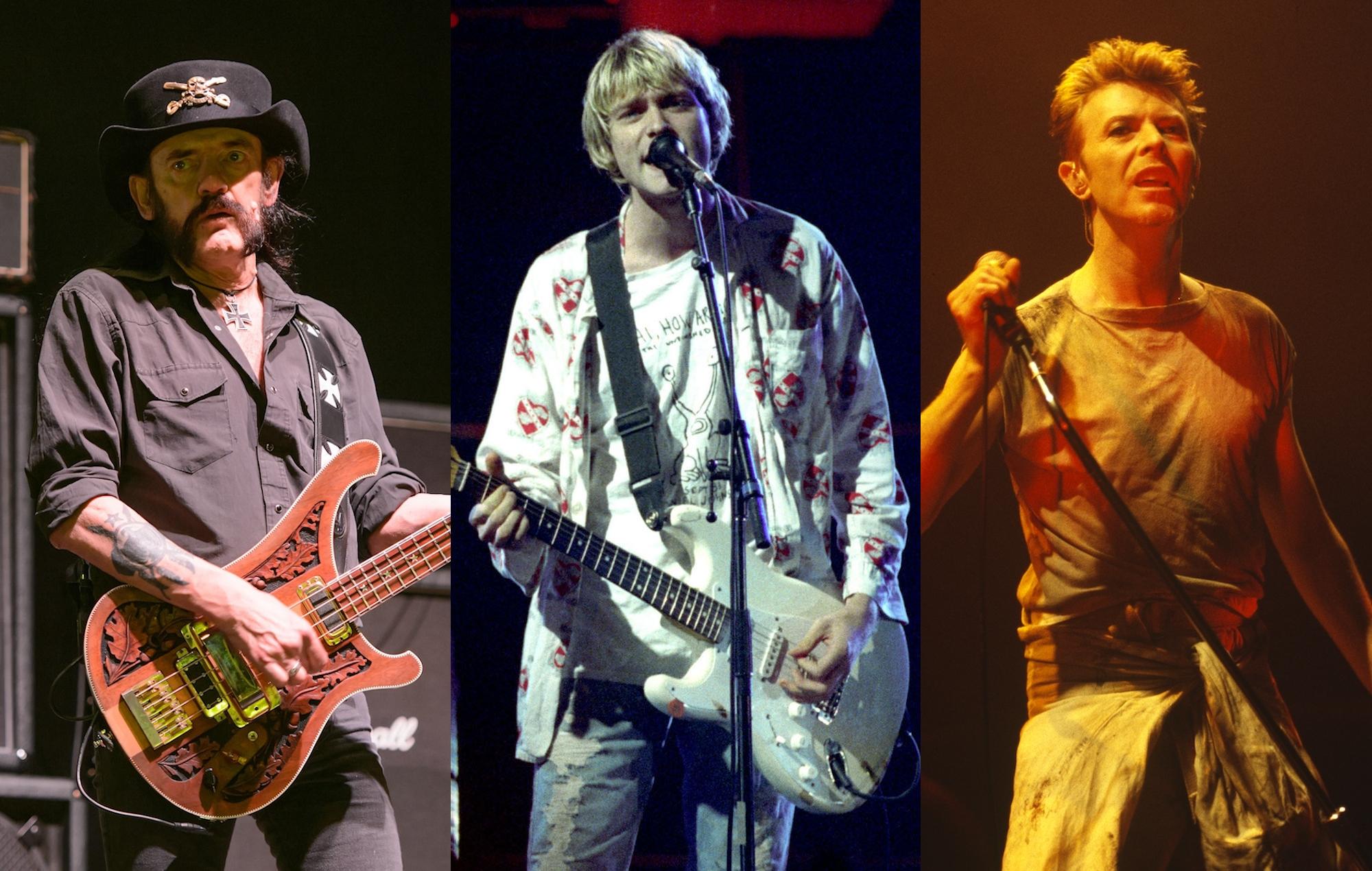 Colouring Book - Lemmy Kurt Cobain David Bowie