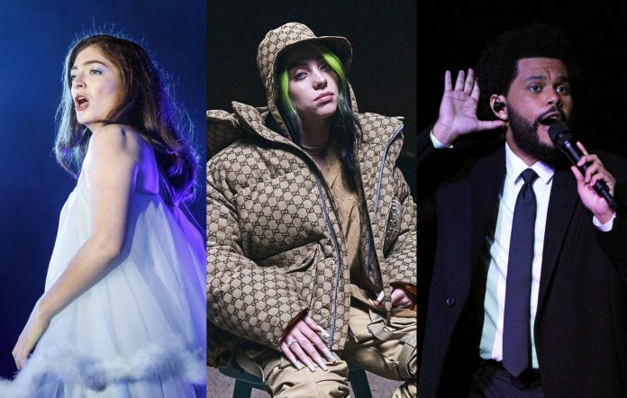 Lorde / Billie Eilish / The Weeknd