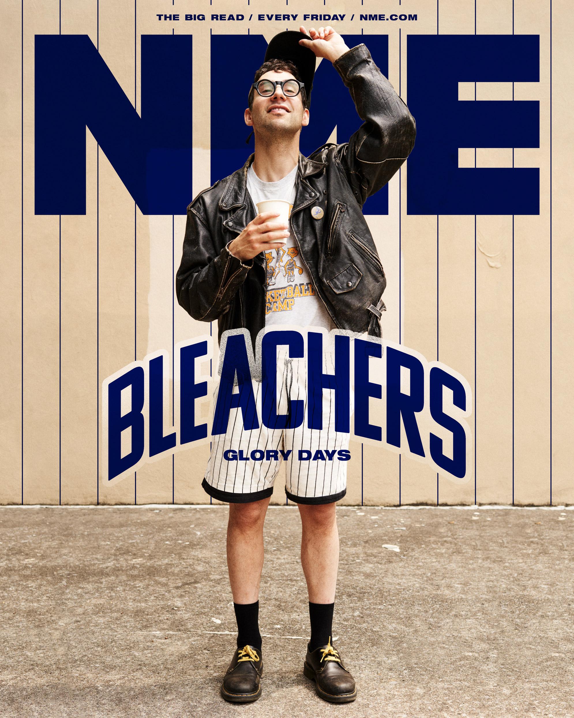 NME Cover 2021 Bleachers, Jack Antonoff