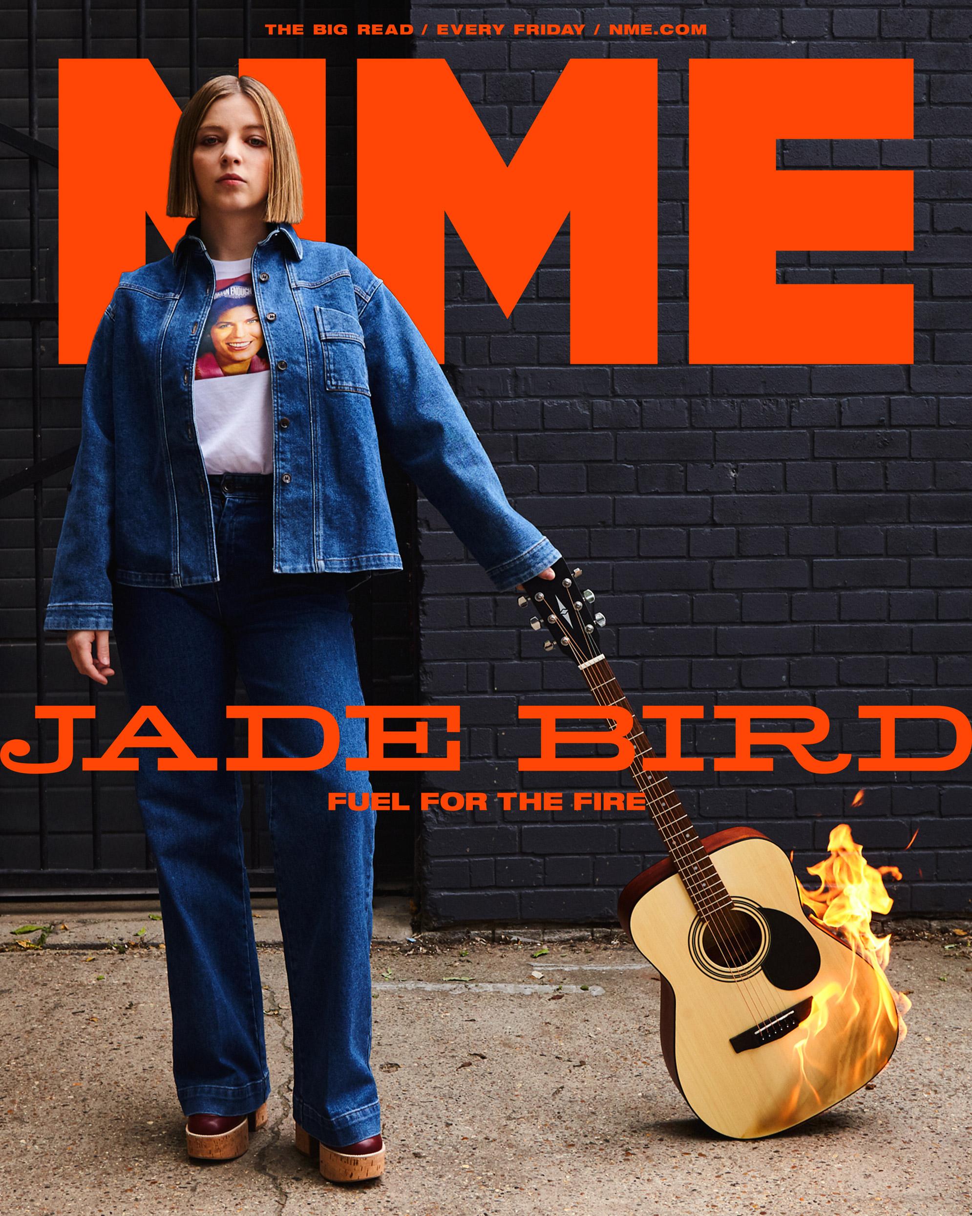 NME Cover 2021 Jade Bird