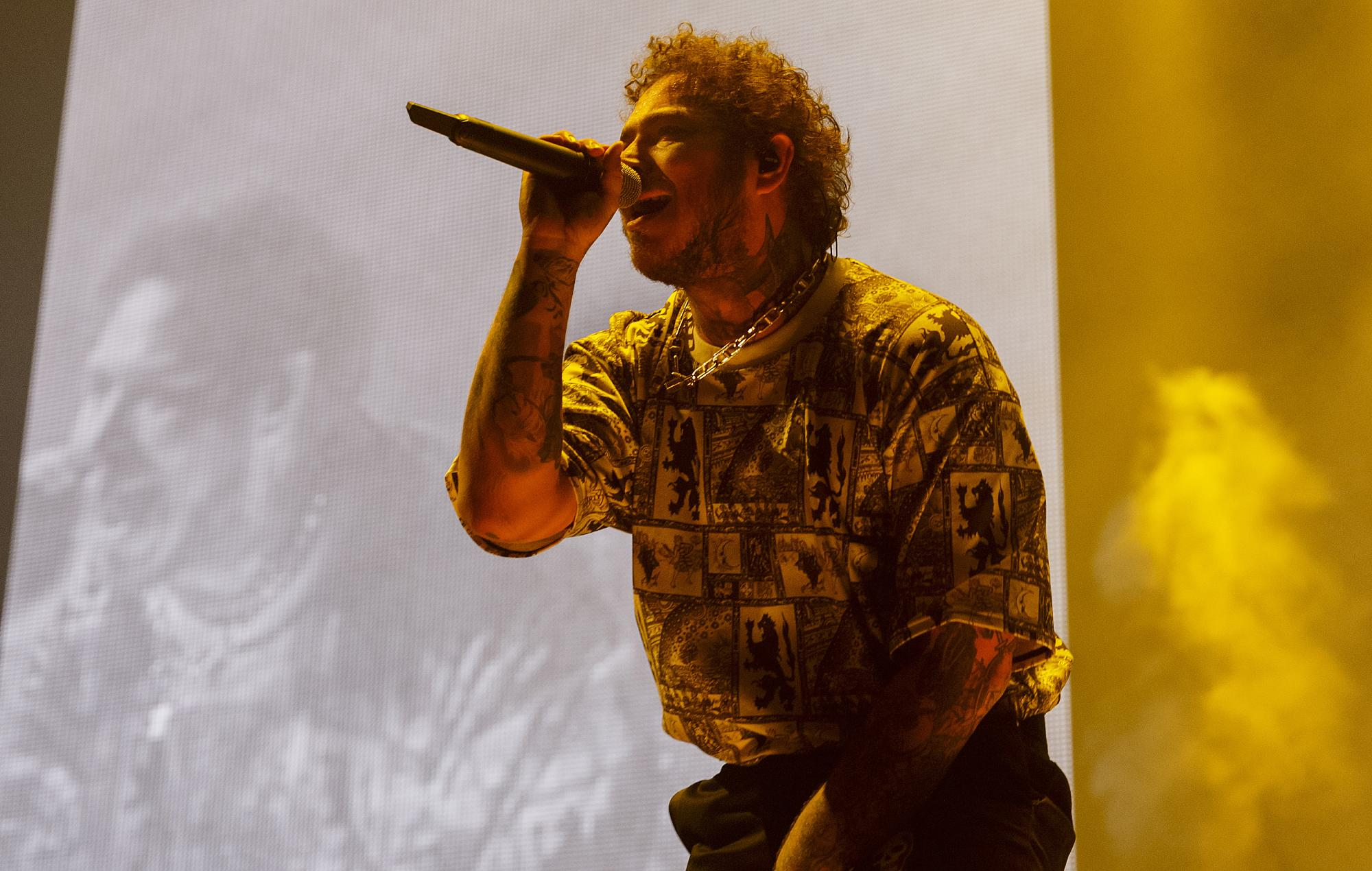 Post Malone to release new song 'Motley Crew' this week – hear snippet