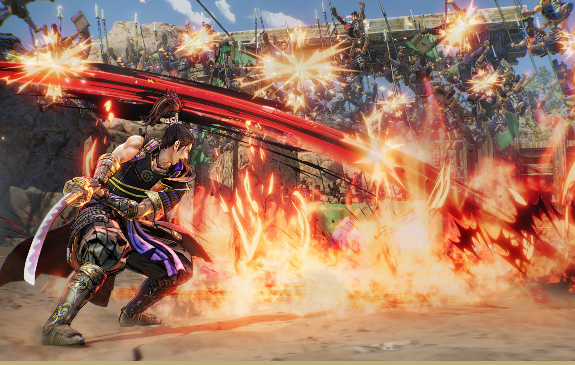 Samurai Warriors 5. Image Credit: Koei Tecmo