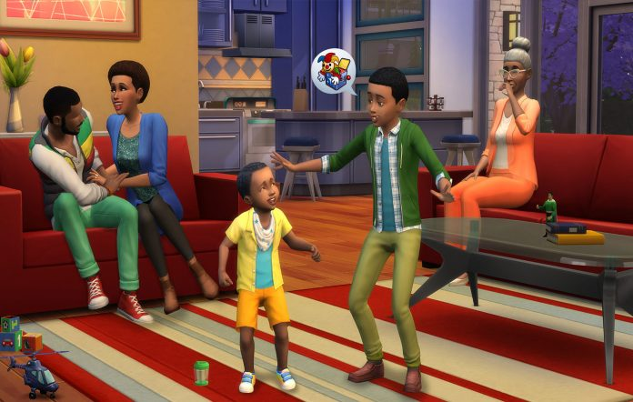 The Sims 4. Image Credit: EA/Maxis
