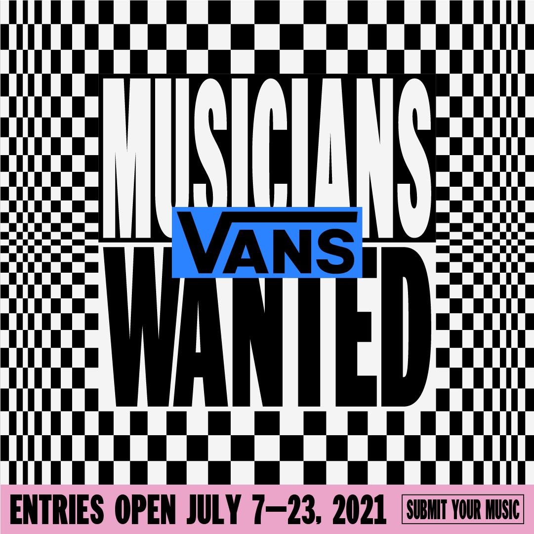 Vans Musicians Wanted flyer