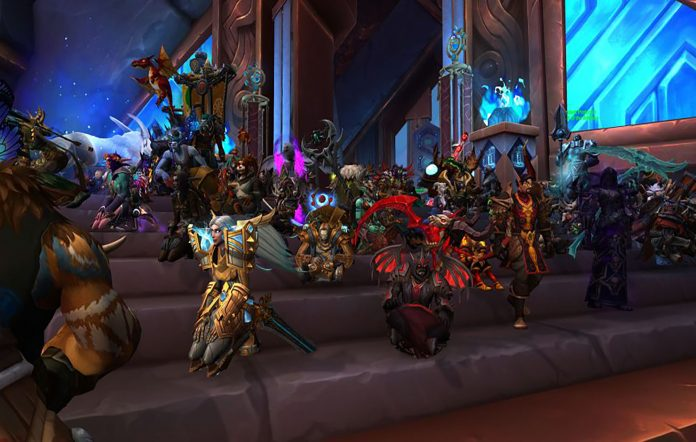 World Of Warcraft protests taking place. Image Credit: Blizzard
