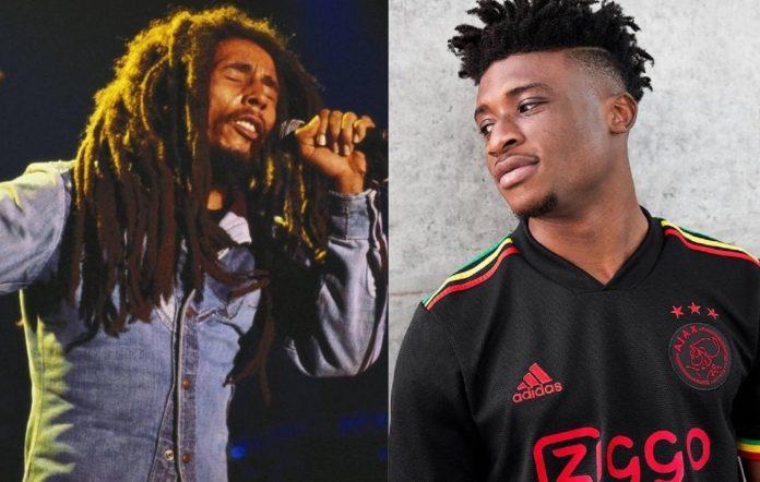 Bob Marley and Ajax's new kit