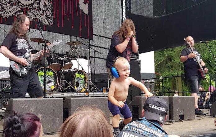 Metal toddler