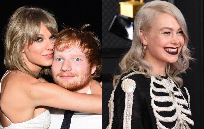 Taylor Swift, Ed Sheeran and Phoebe Bridgers