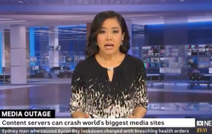 ABC presenter Yvonne Yong