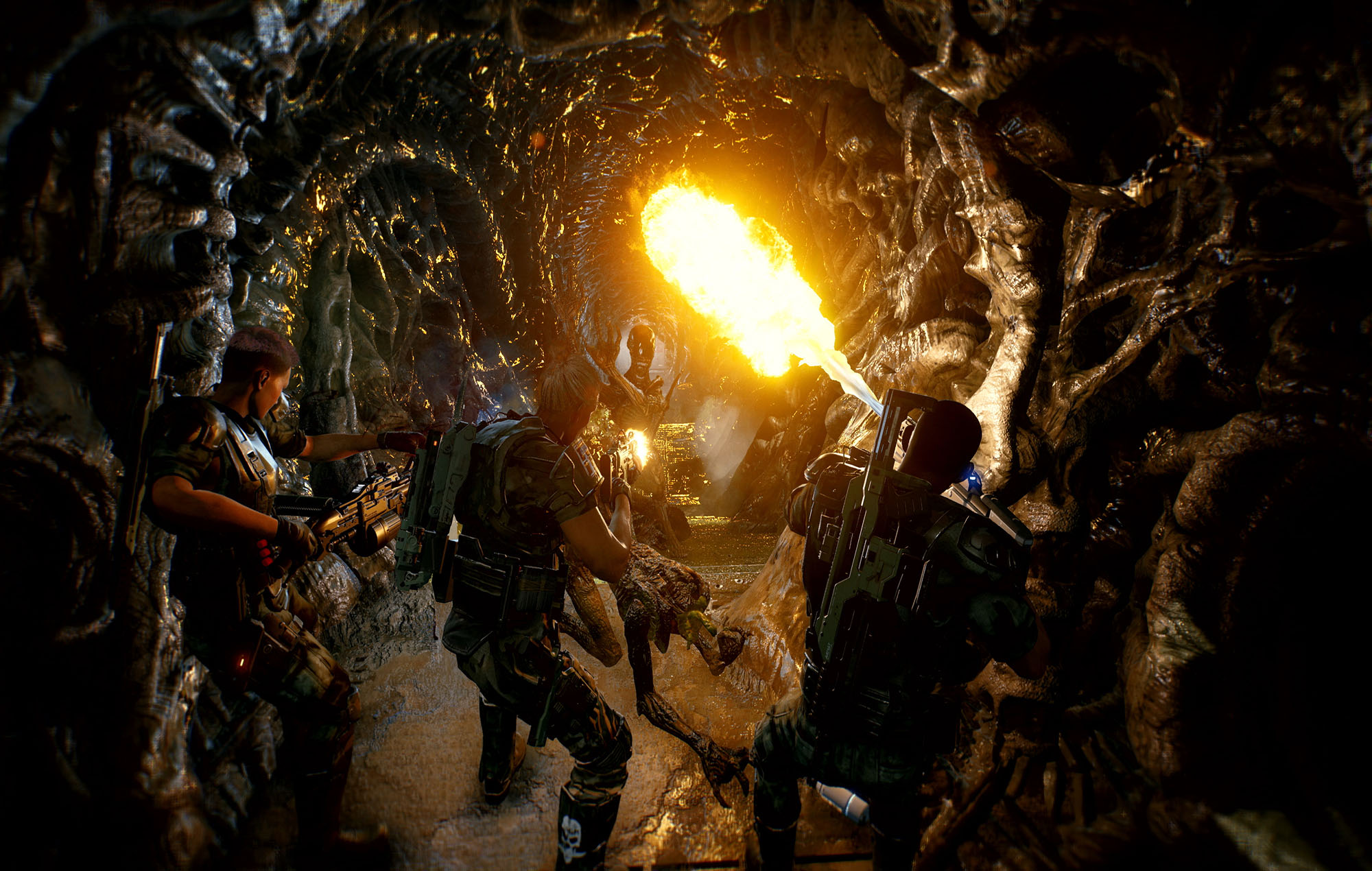 Aliens: Fireteam Elite. Image Credit: Cold Iron Studios
