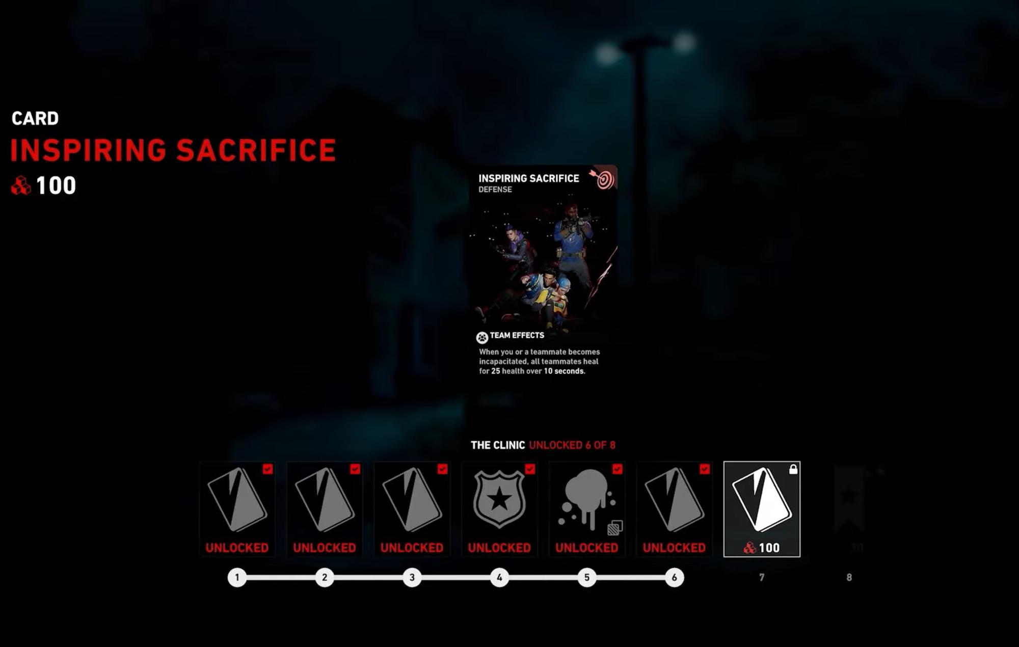 Back 4 Blood Inspiring Sacrifice