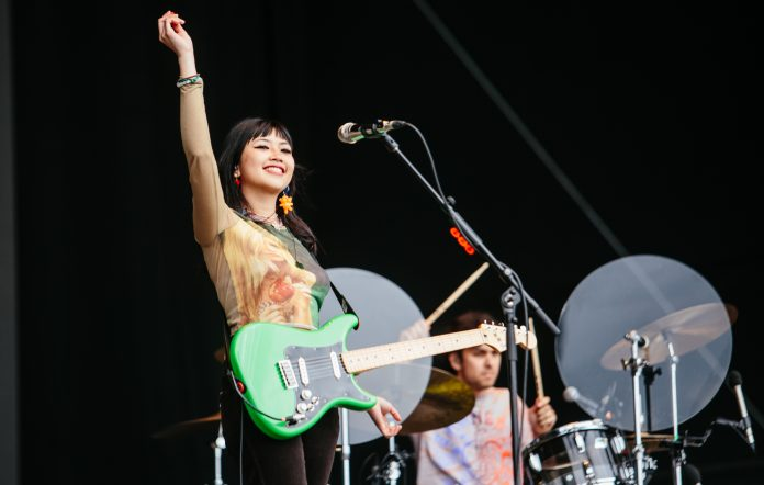 Beabadoobee at Reading 2021. Credit: Andy Ford for NME