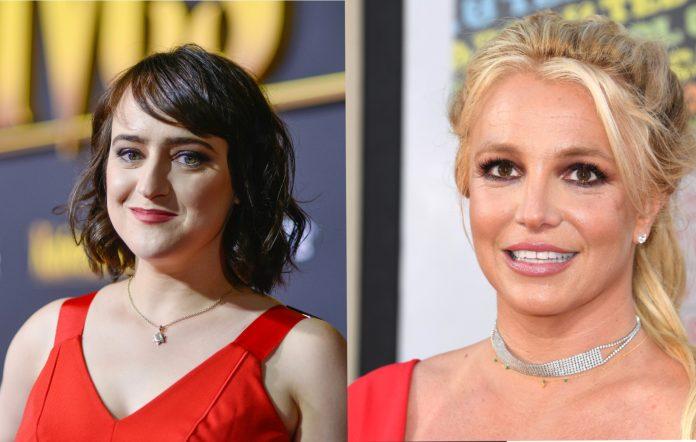 Mara Wilson and Britney Spears