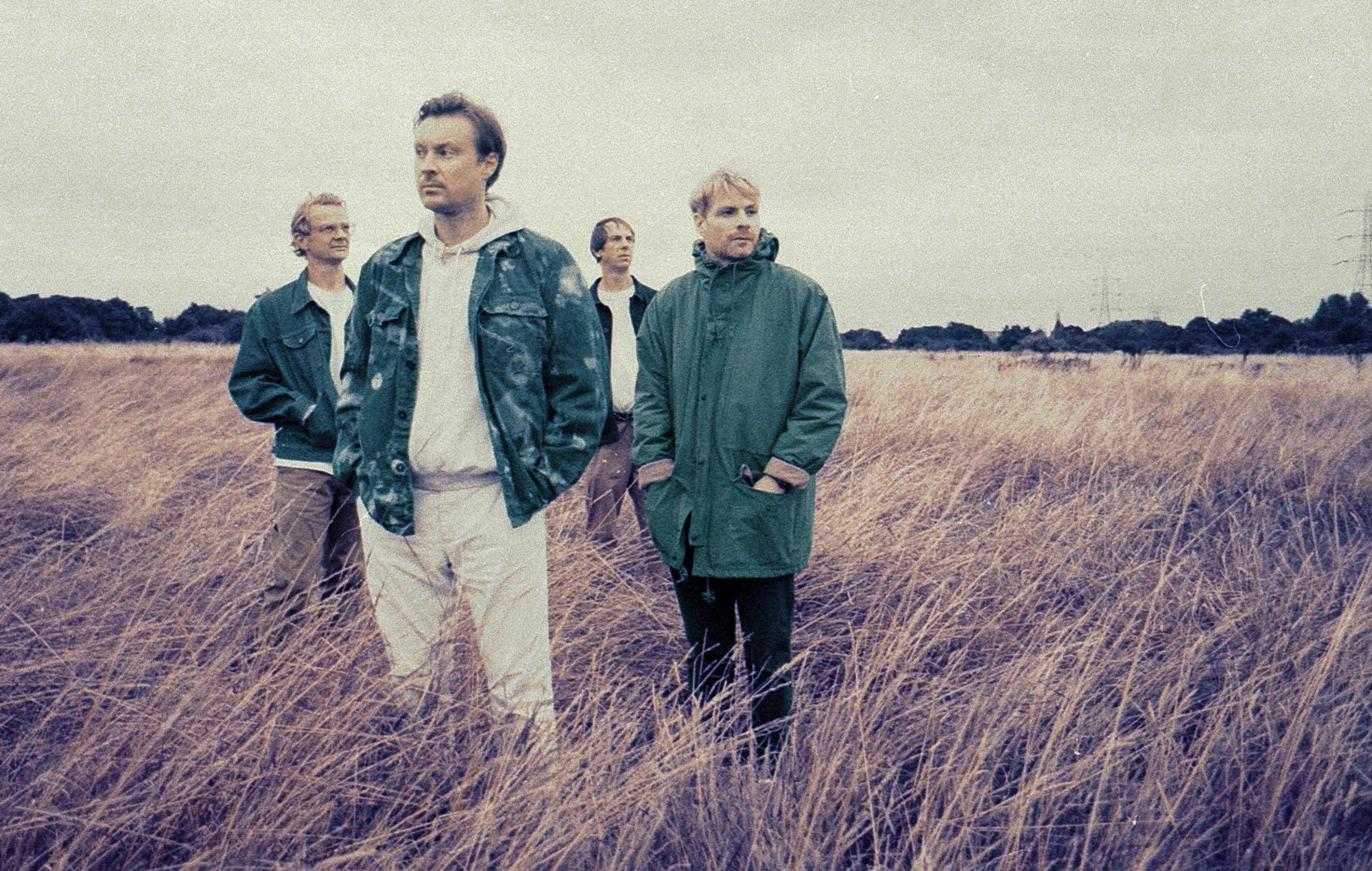 Django Django announce deluxe edition of 'Glowing In The Dark' with new  song 'Under Fire'