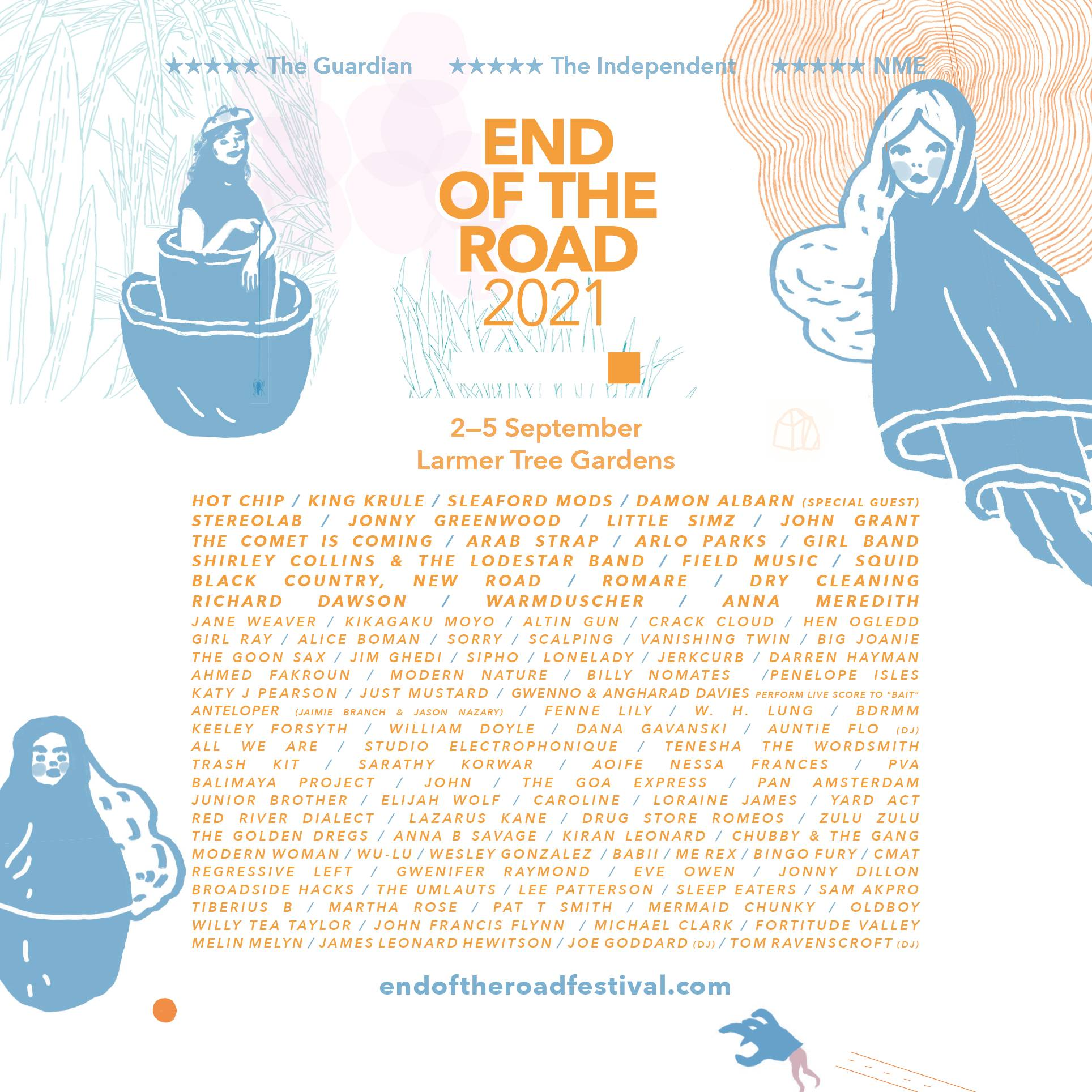 End Of The Road 2021 line-up
