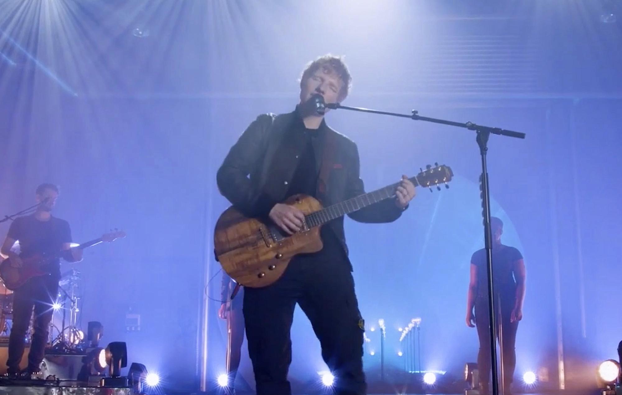 Ed Sheeran debut