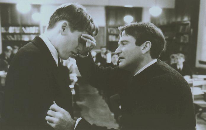 Ethan Hawke and Robin Williams