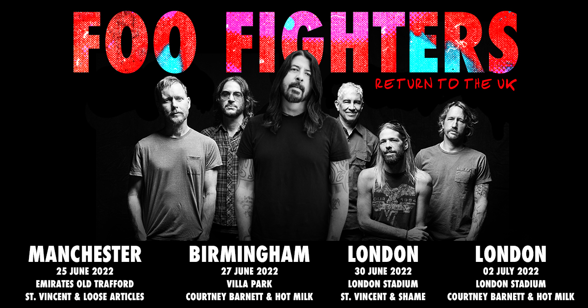 Foo Fighters announce UK stadium shows – Dave Grohl on what to expect