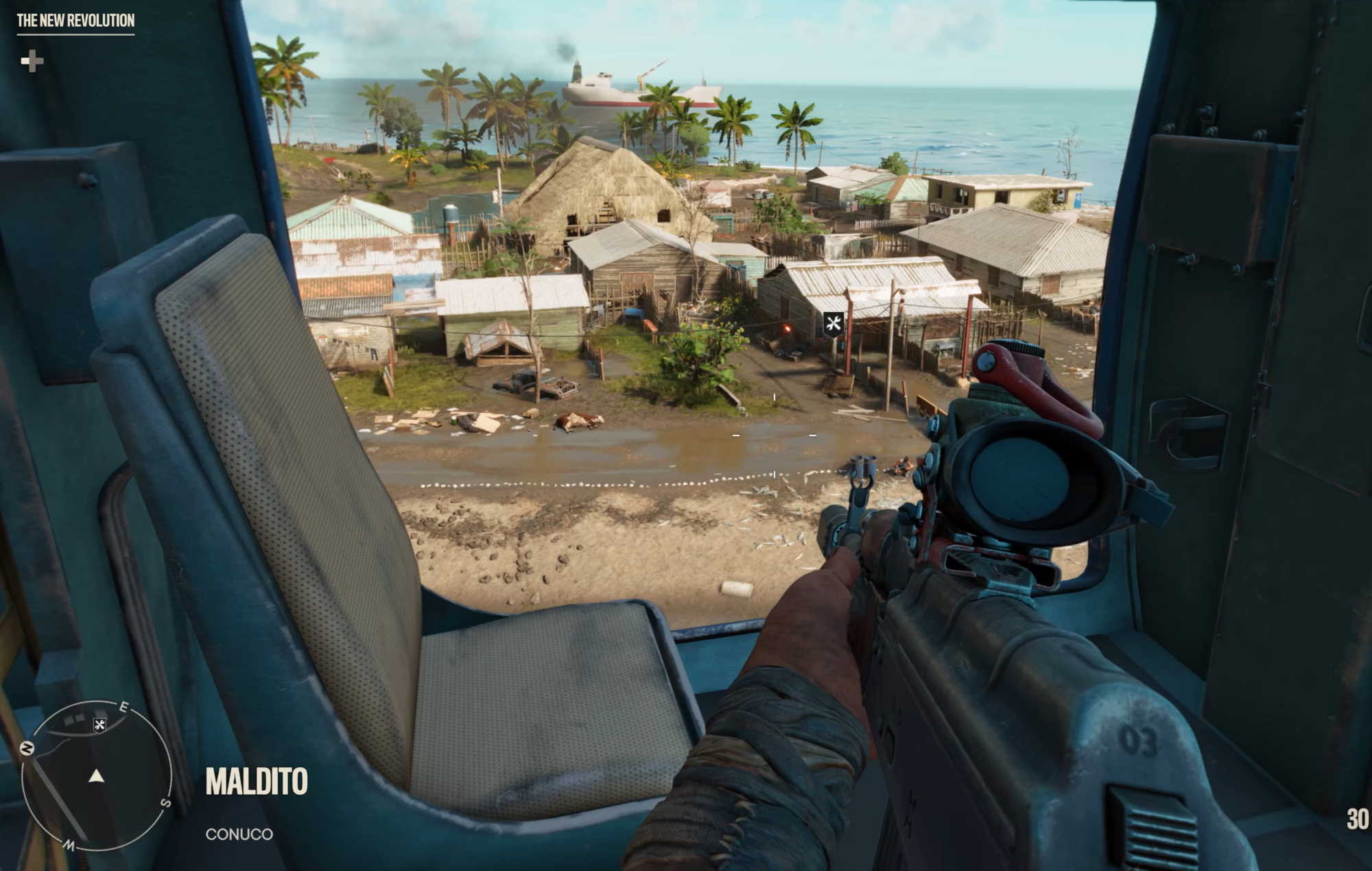 Far Cry 6: helicopter