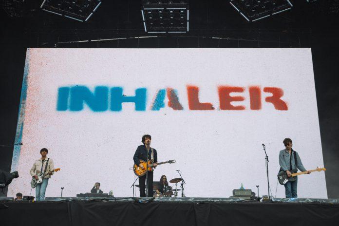 Inhaler live at Reading 2021. Photo: Emma Viola Lilja for NME