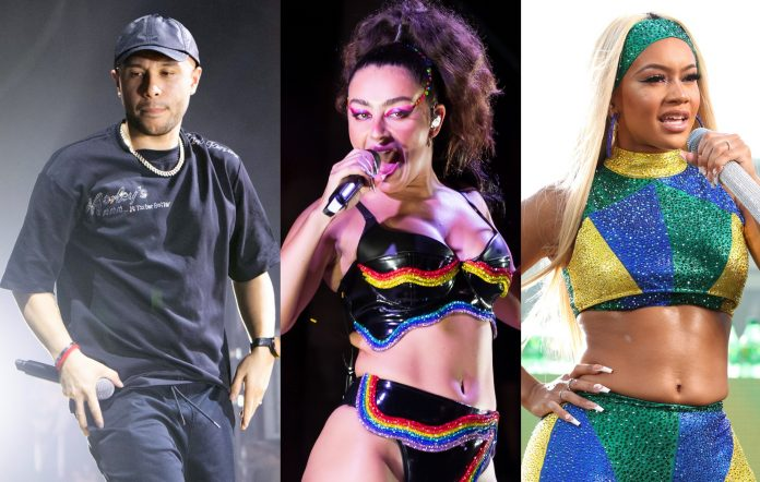 Joel Corry and Jax Jones enlist Charli XCX and Saweetie for new single 'OUT OUT'