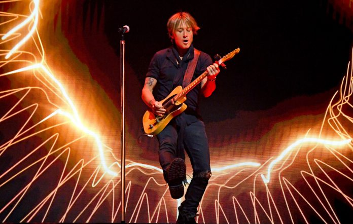 Keith Urban. Credit: Kevin Mazur/Getty Images for ACM