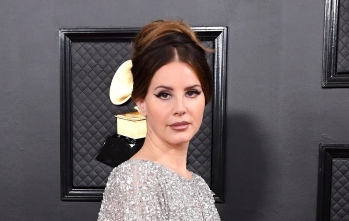 Lana Del Rey attends the 2020 Grammy Awards