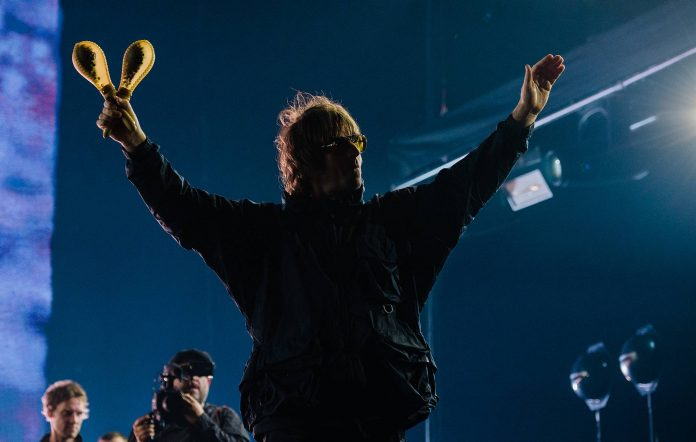 Liam Gallagher live at The O2, London. Credit: Ben Bentley