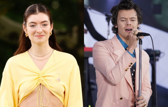 Lorde and Harry Styles