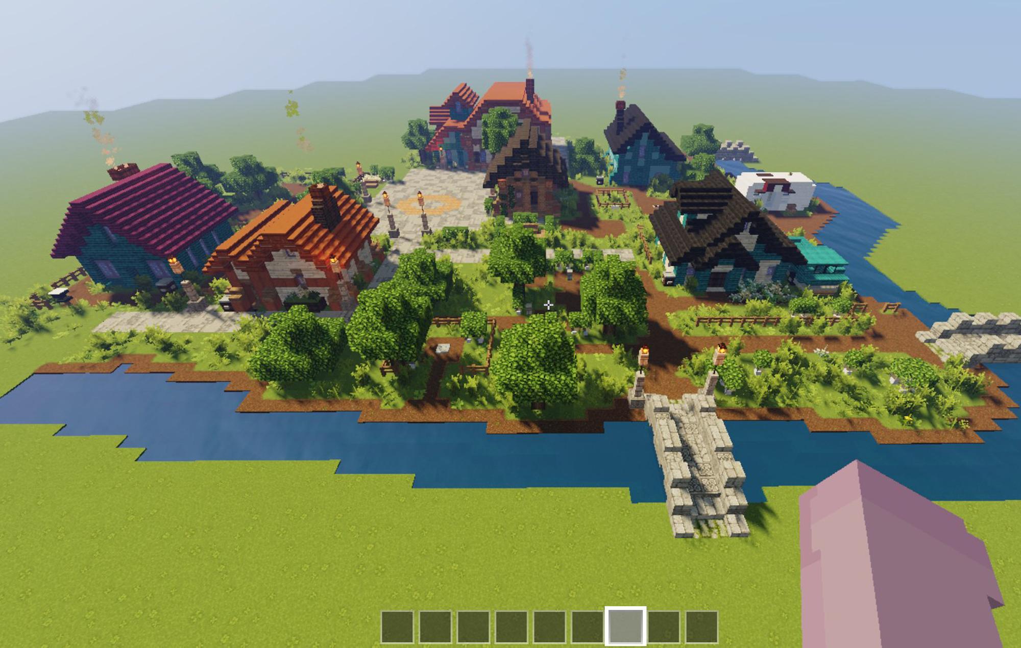 Minecraft Stardew Valley build