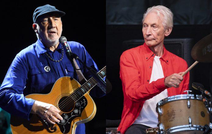 Pete Townshend Charlie Watts