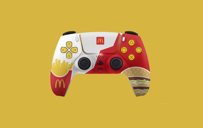 Playstation Dualsense McDonald's cancelled controller