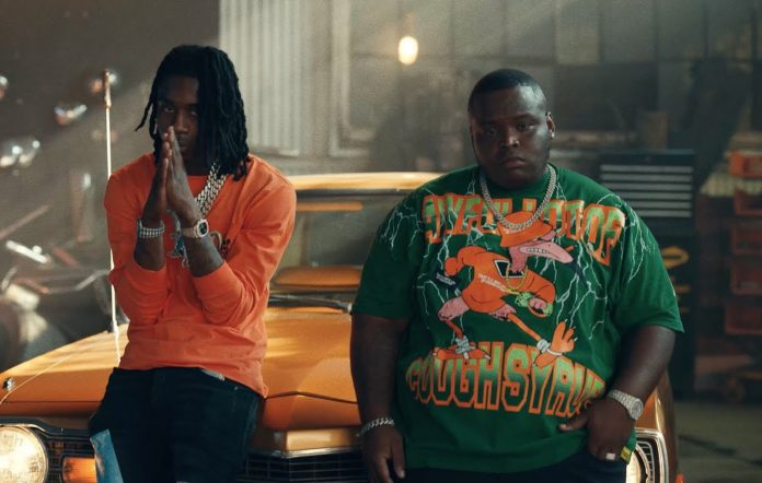 Polo G and Morray in the 'Trenches' remix video