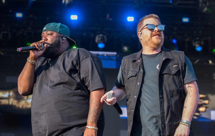 Run the Jewels perform at All Points East Festival 2019